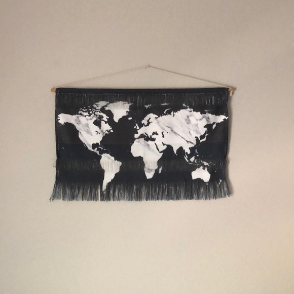 Society6 Other - World Map Hanging Wall Art